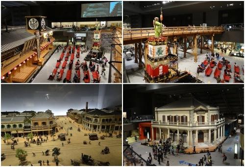 Edo-Tokyo Museum exhibitions