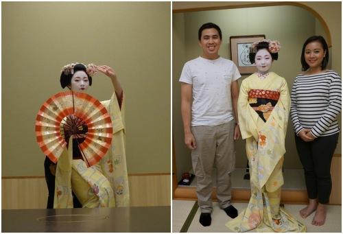 Geiko dance