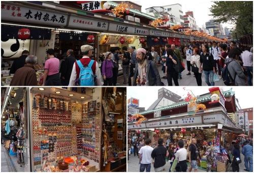 Nakamise-dori Street