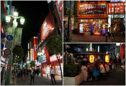Shinjuku commercial area