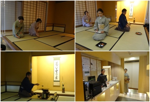 Tea ceremony at Koomon Tea School