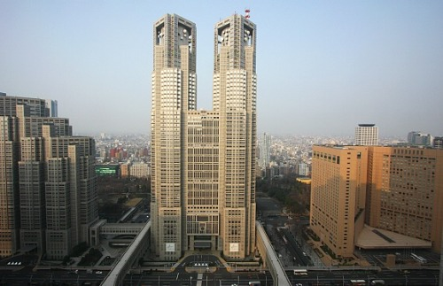 Tokyo Metropolitan Government Building (photo from www.japan-guide.com )