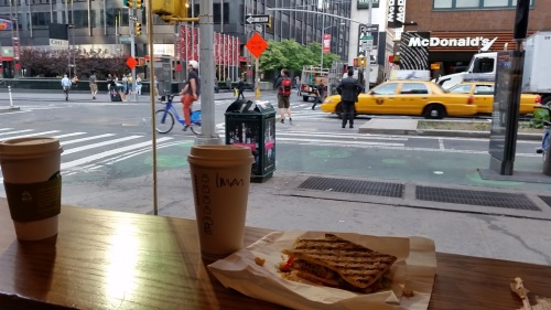 Breakfast at Starbucks