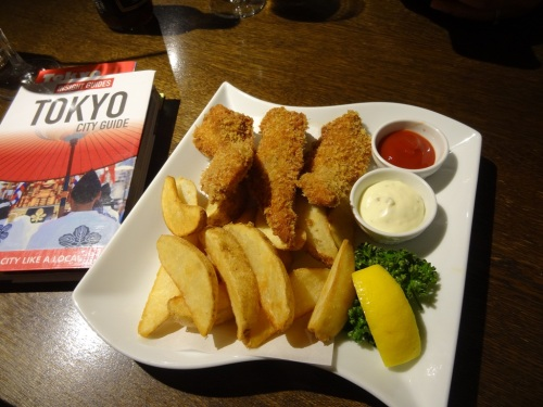 Fish and Chips at Gastro-Pub Coopers