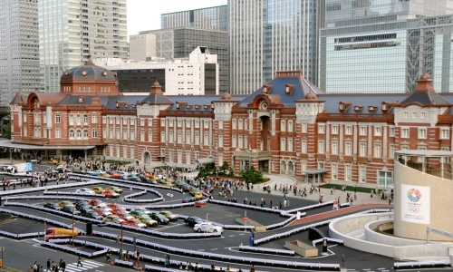 Tokyo Station (photo from http://www.japantimes.co.jp )