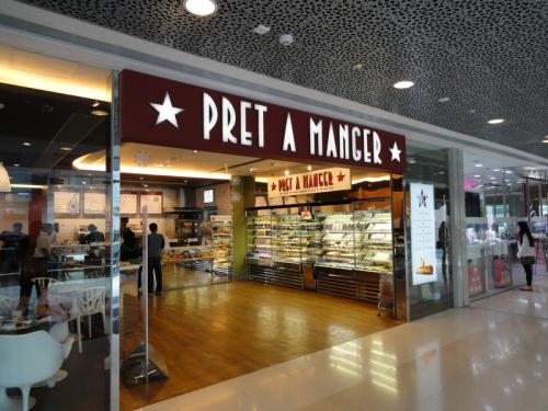 Pret A Manger at IFC Mall