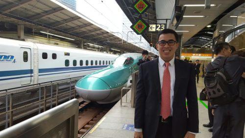 Shinkansen to Kanazawa