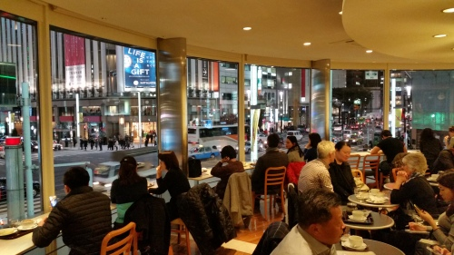 Cafe Doutor at Ginza