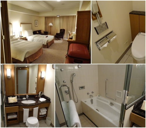Deluxe room at Imperial Hotel