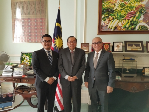 Meeting with the Malaysian High Commissioner to the UK