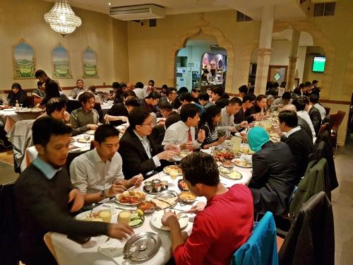 Dinner at Khan's Restaurant