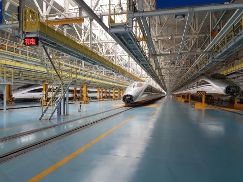 High Speed Rail depot