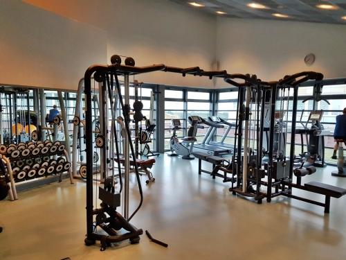 Gym at Grand Hyatt Berlin