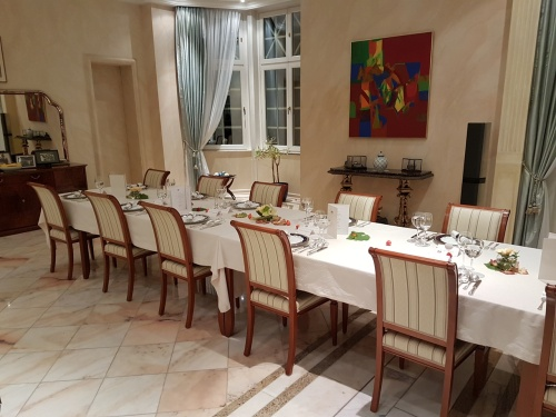 Dinner with Malaysian Ambassador