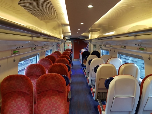 Virgin train to Stoke-on-Trent