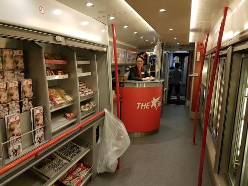 Cafe on Virgin Train