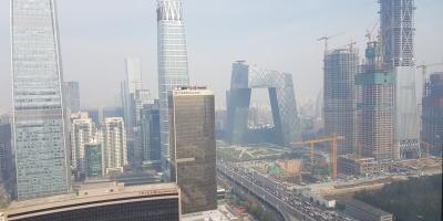 View of Beijing city