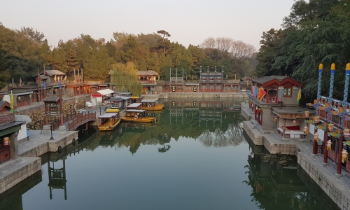 Replica of Suzhou Street at Summer Palace