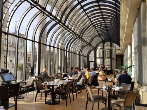 The Terrace Grill at Le Meridien