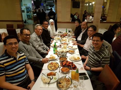 Dinner at Khan's