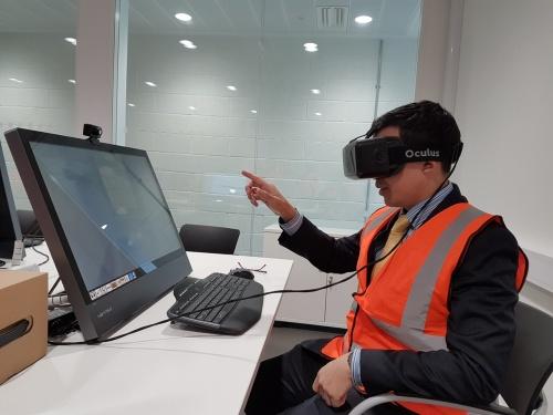 Virtual Reality at NTAR