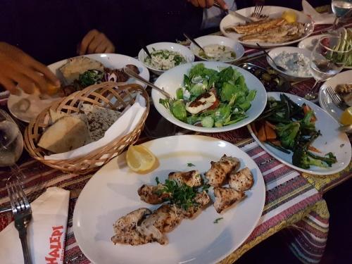 Dinner at Halepi Restaurant