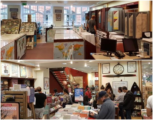 Stanfords - inside the shop