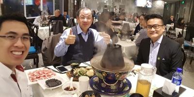 Dinner at Dong Lai Shun