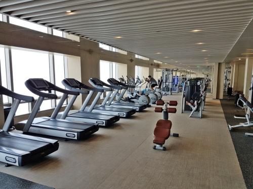 Gym at Park Hyatt Beijing