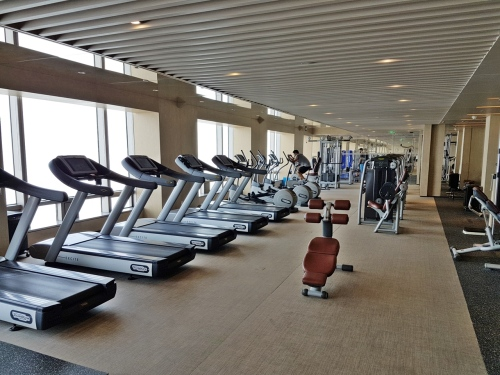 Gym at Park Hyatt Beijing
