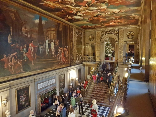Inside Chatsworth House
