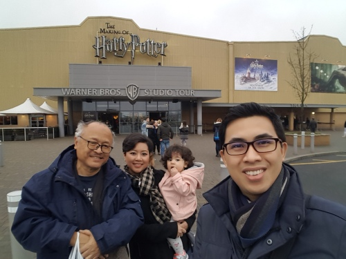 Harry Potter Studios entrance