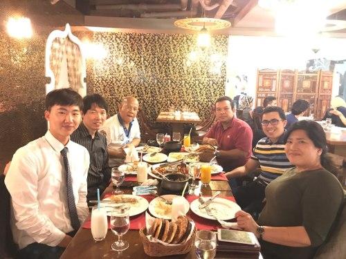 Dinner at Saffron Arabic Restaurant