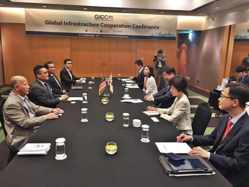 Bilateral meeting with Vice Minister MOLIT