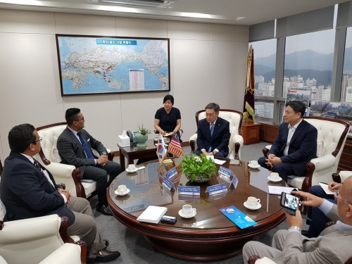 Bilateral meeting with KRNA Chairman
