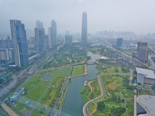 View of IFEZ Songdo
