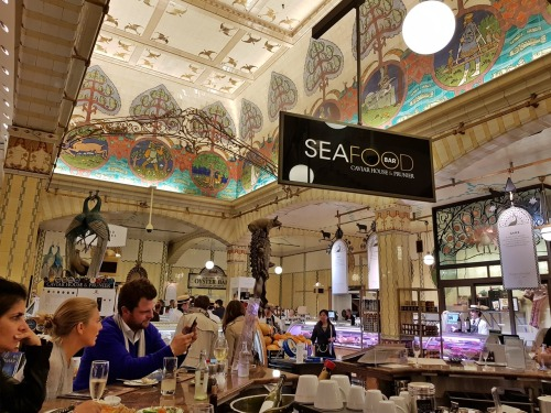 Harrods Seafood Bar