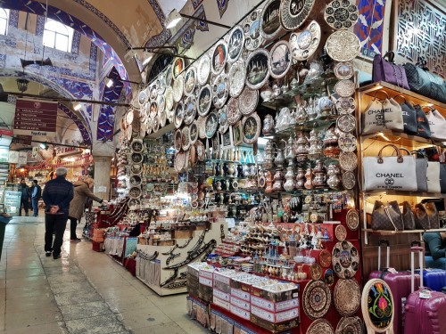 More shopping at the Grand Bazaar