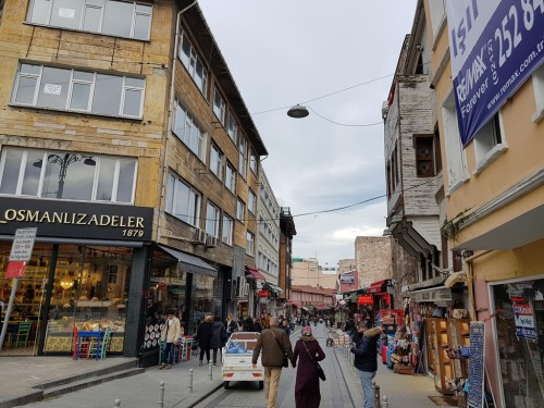 Shops in Sirkeci