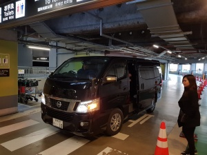Airport transfer from Haneda