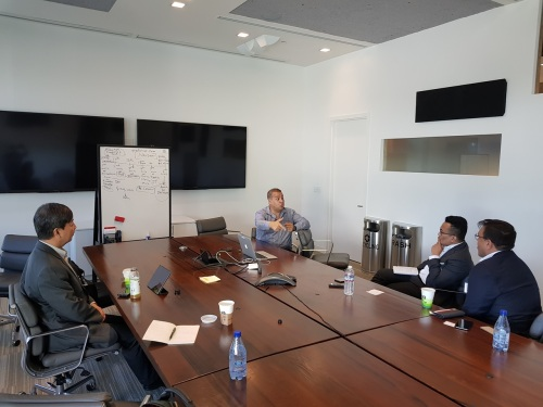Meeting with Cloudera's Amr Awadallah