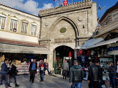 Entrance to Grand Bazaar