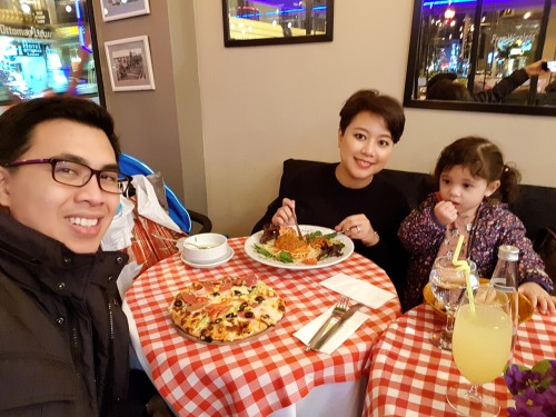Dinner at Blu Kitchen
