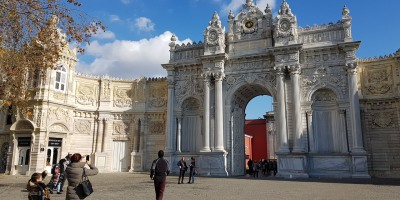 Entrance to Dolmabahçe Palace