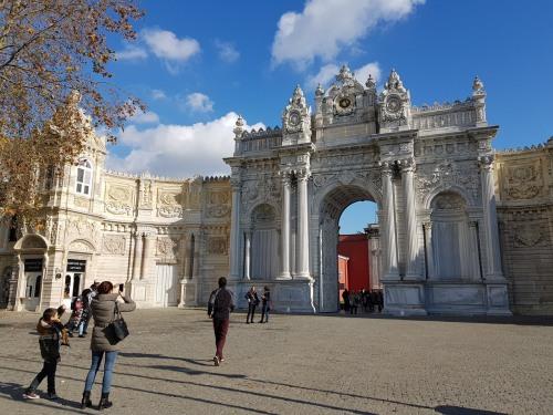 Entrance to Dolmabahçe Palace