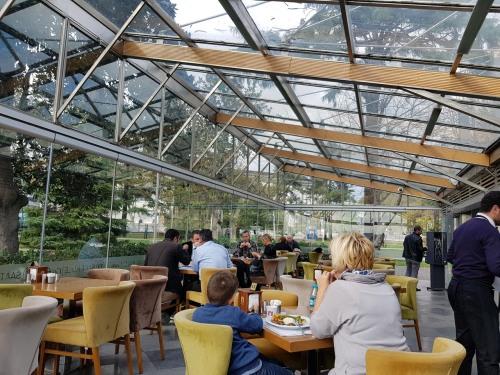 Lunch at Dolmabahçe Café