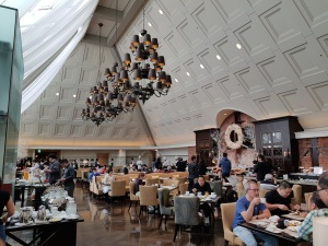 Breakfast at Tokyo Station Hotel