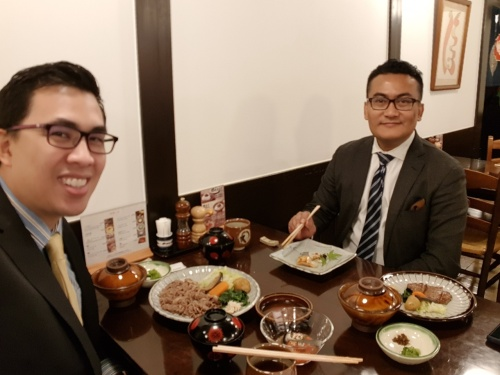 Lunch at Ginza area