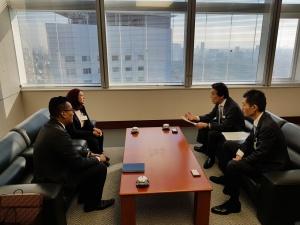 Meeting with Masaki Ogata