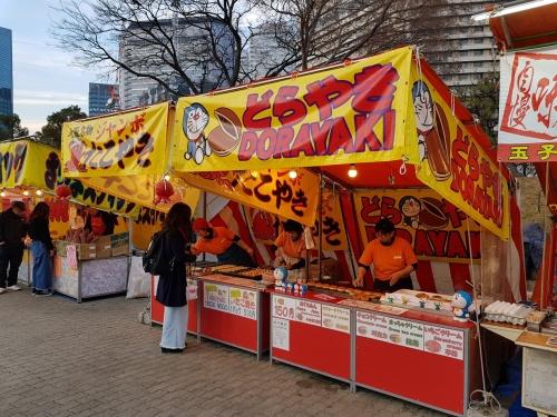 Dorayaki stall